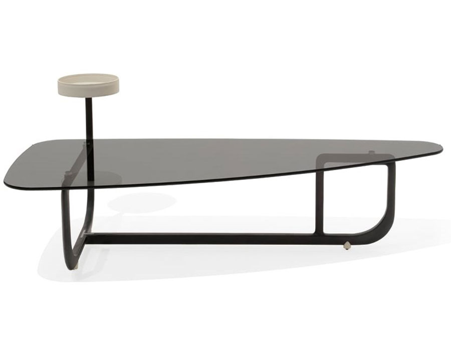 Glass coffee table model n.27