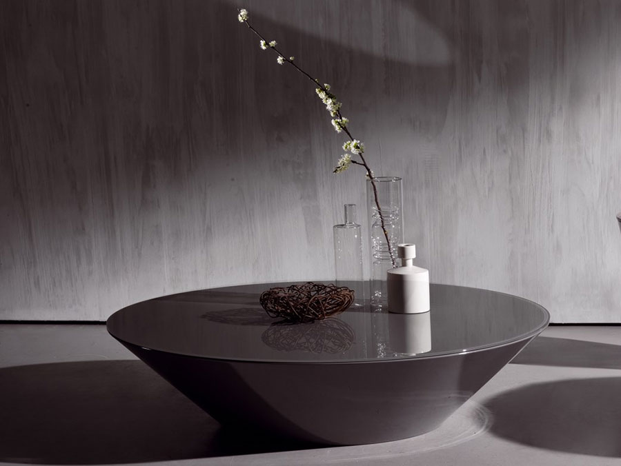 Glass coffee table model n.28