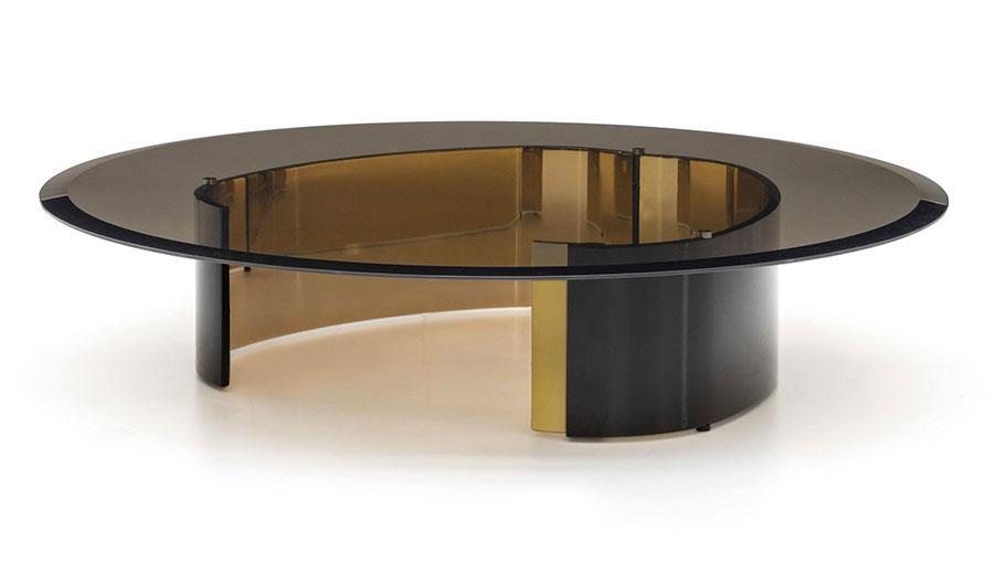 Glass coffee table model n.25