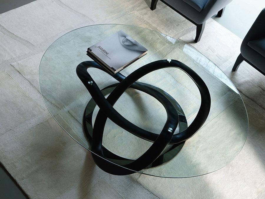Glass coffee table model n.29