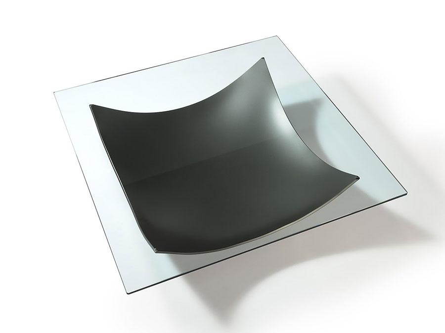 Glass coffee table model n.21