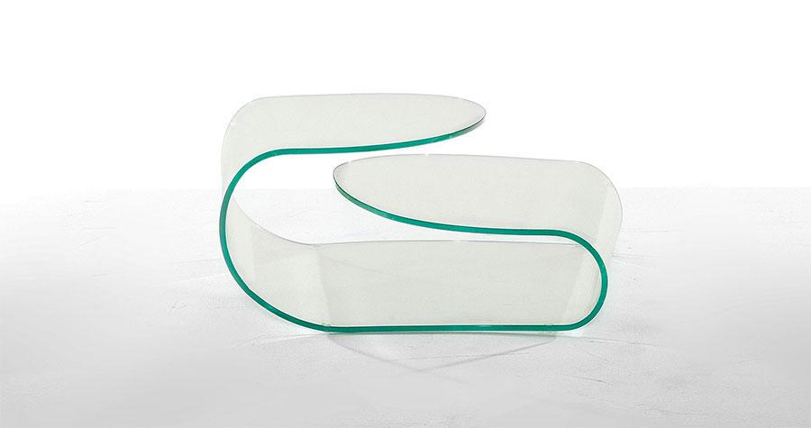 Glass coffee table model n.32