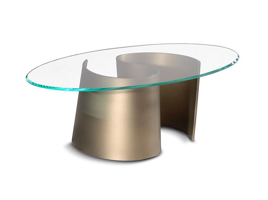 Glass coffee table model n.22