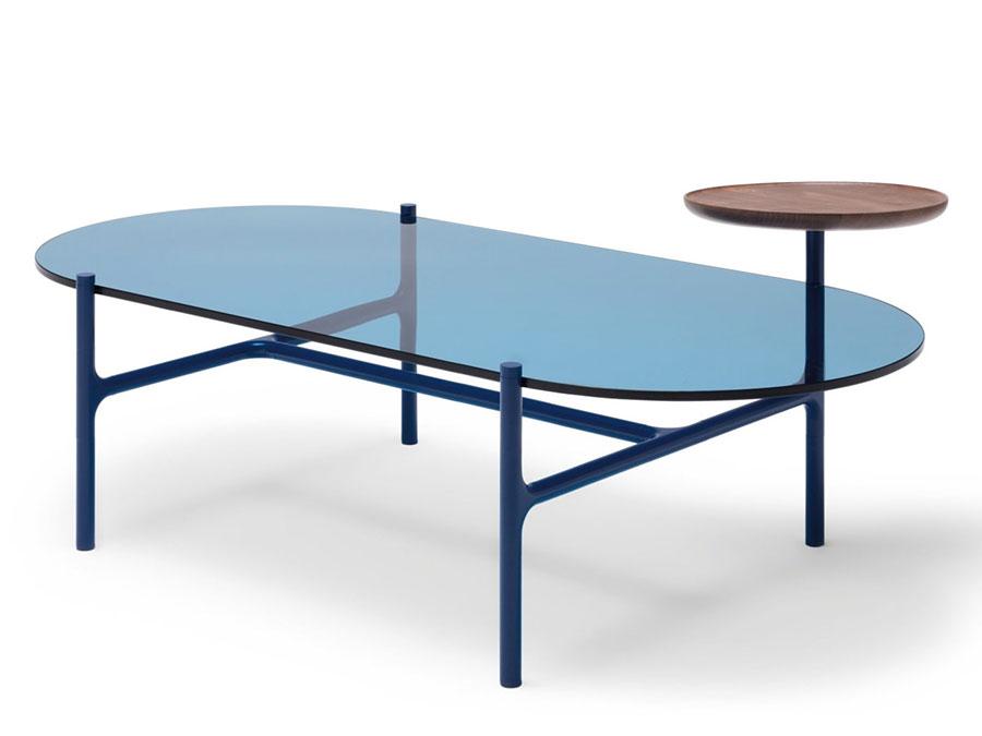 Glass coffee table model n.16