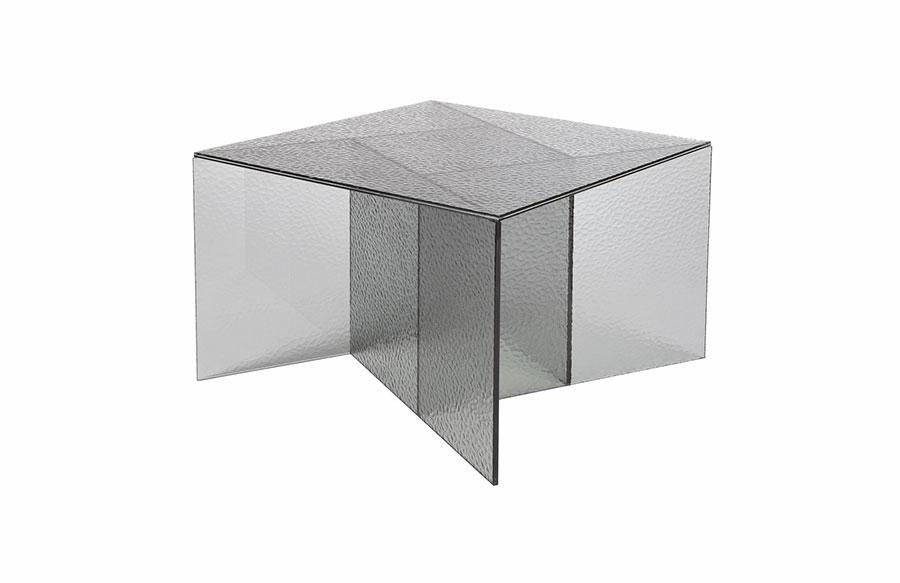Glass coffee table model n.36