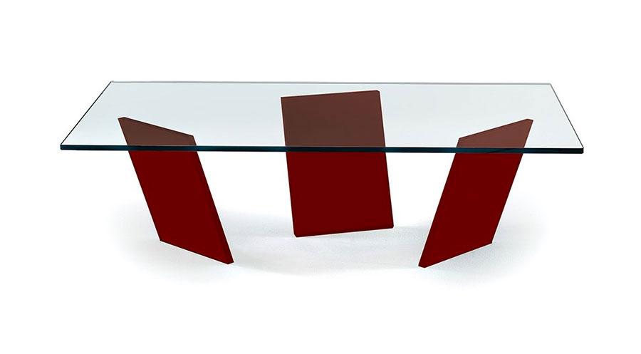 Glass coffee table model n.17