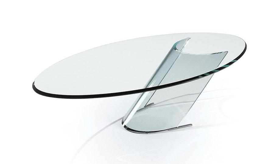 Glass coffee table model n.19