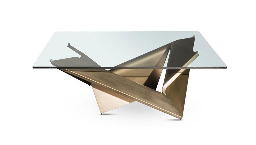 Glass coffee table model n.20