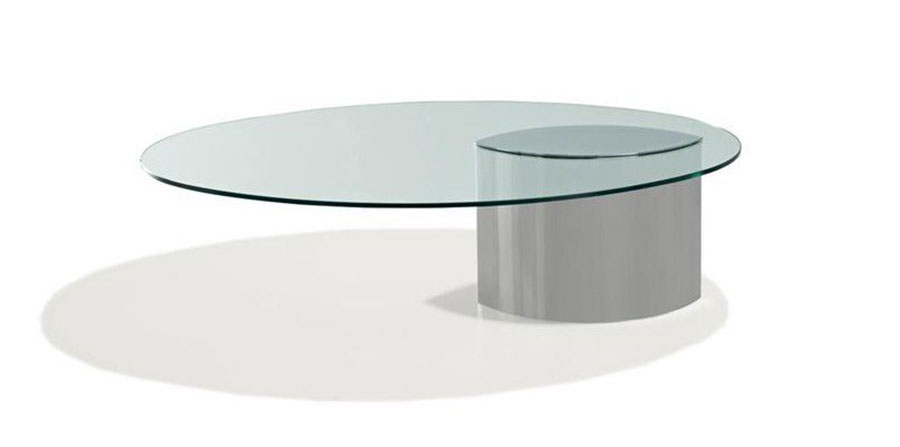 Glass coffee table model n.39