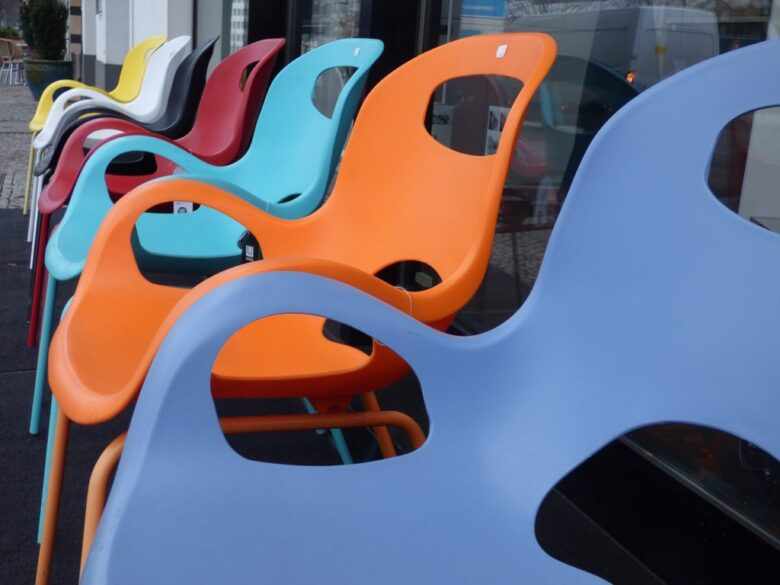 Chairs Seat Furniture Set Colorful Design Chair