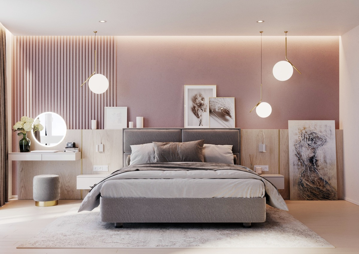 bedroom-antique-pink-and-light-gray