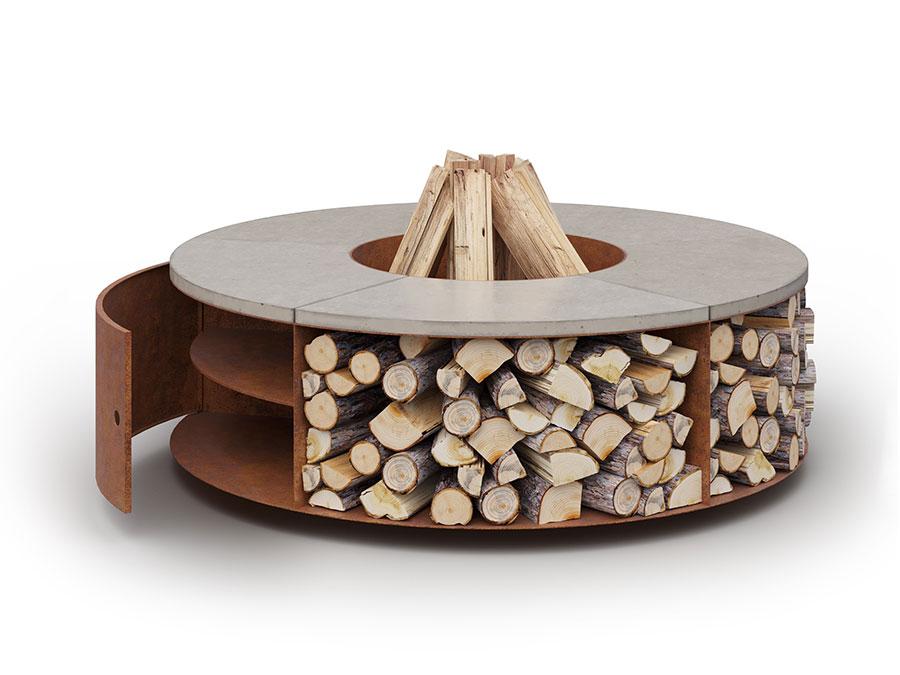 Design Garden Fireplace Model # 01