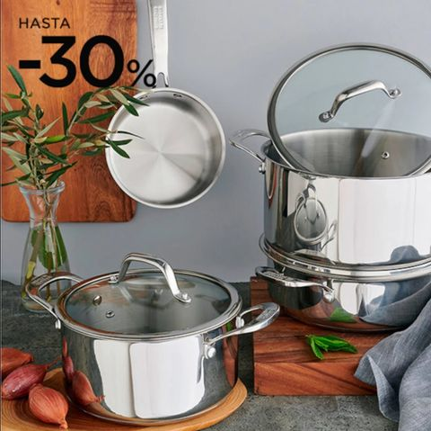 cookware from el corte inglés