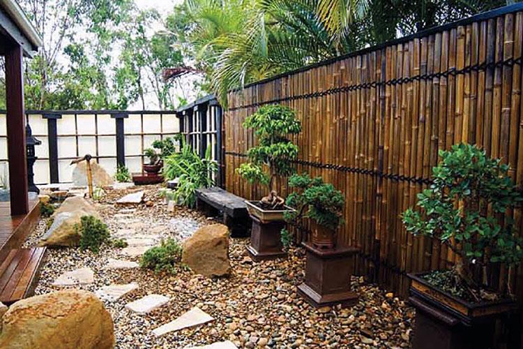 Design Bamboo Fence # 01