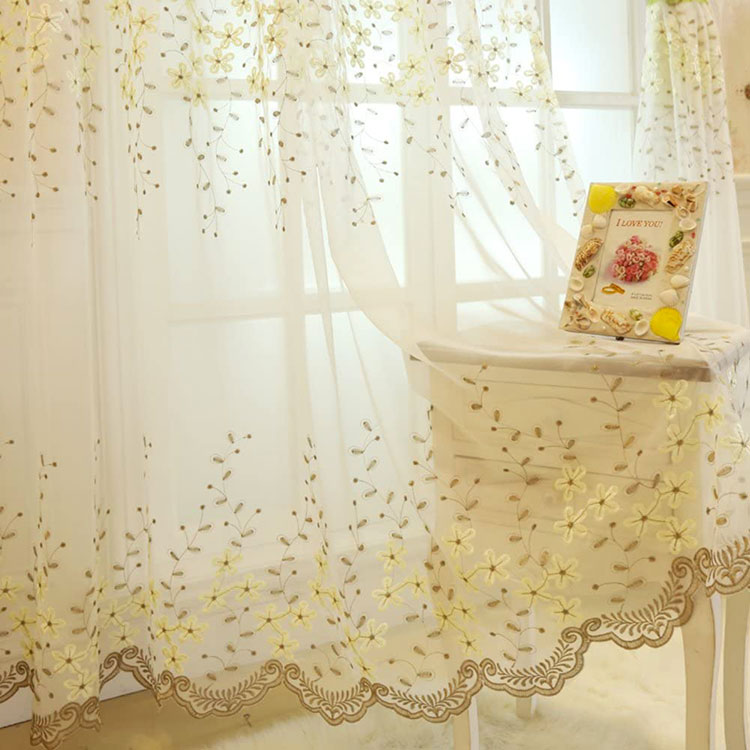 Classic dining room curtains pattern 01