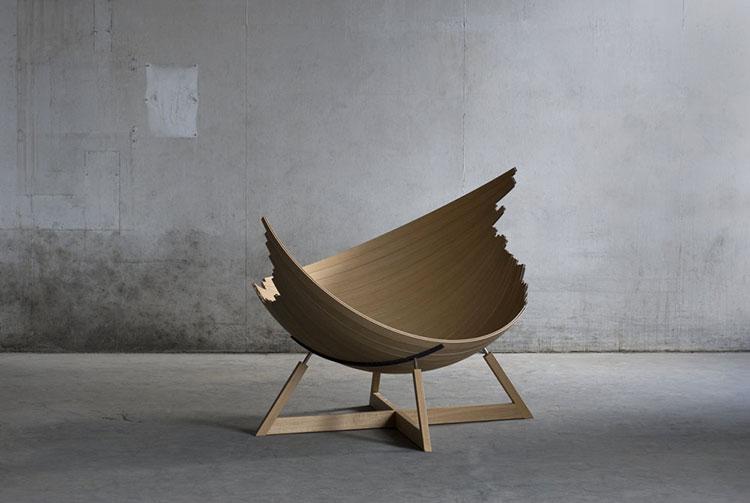 Barca armchair by Jakob Jørgensen