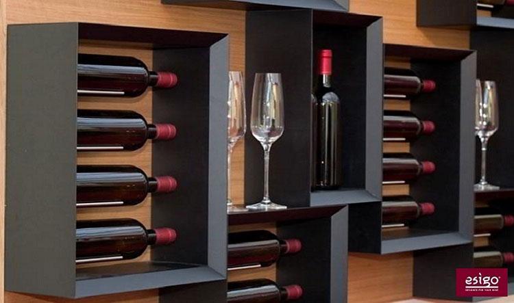Design bottle holder model n.01