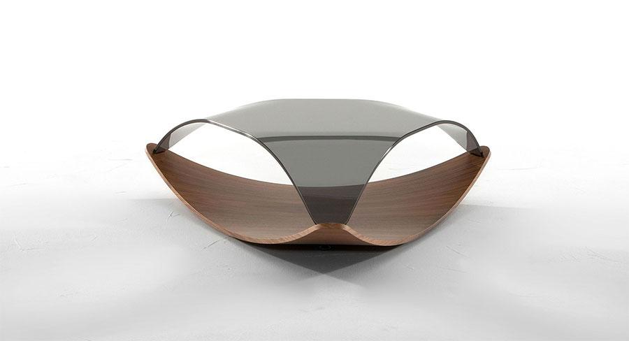 Glass coffee table model n.01