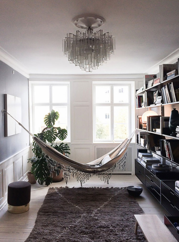Indoor hammock model n.01