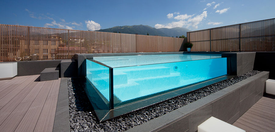 Castiglione above ground pool model