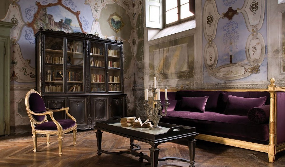 Florentine-style-living room-9