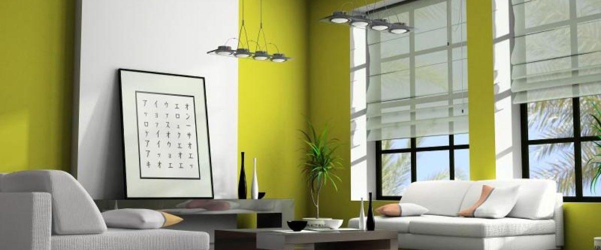soggiorno-pareti-verde-lime-1