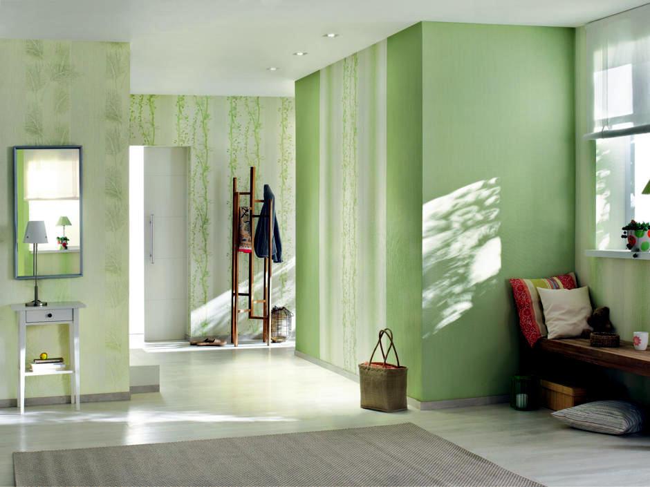 elegant-entrance-green-colors