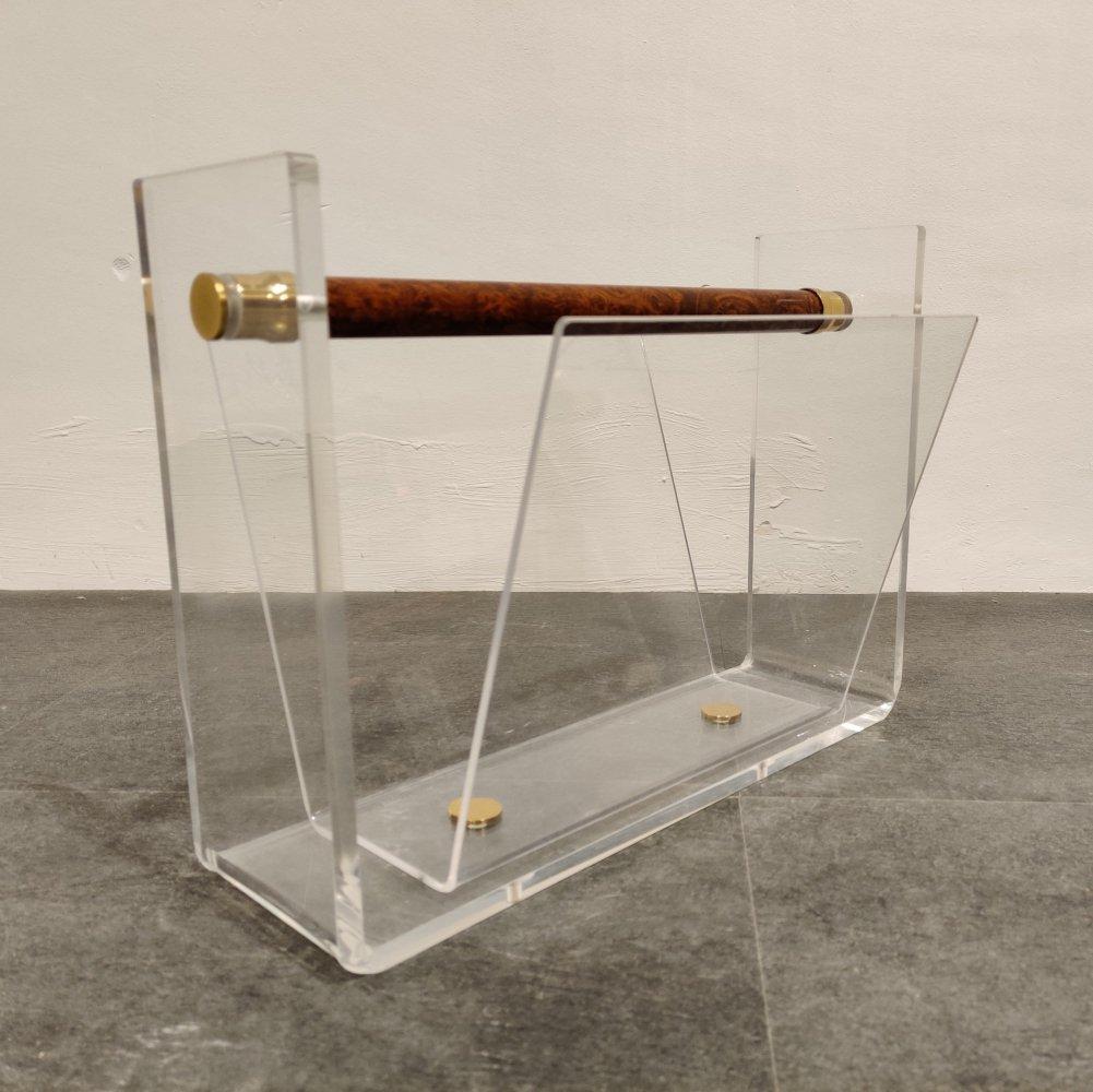 furniture-plexiglas-magazine racks