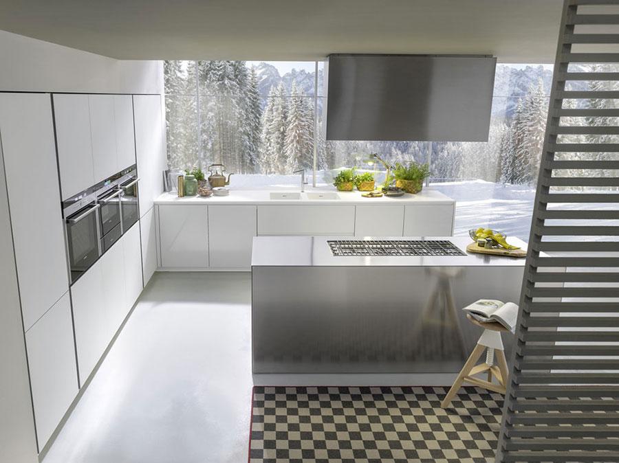 Modern White Kitchen Model # 06