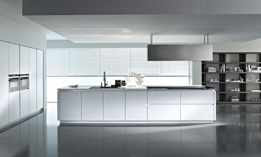 Modern White Kitchen Model # 02