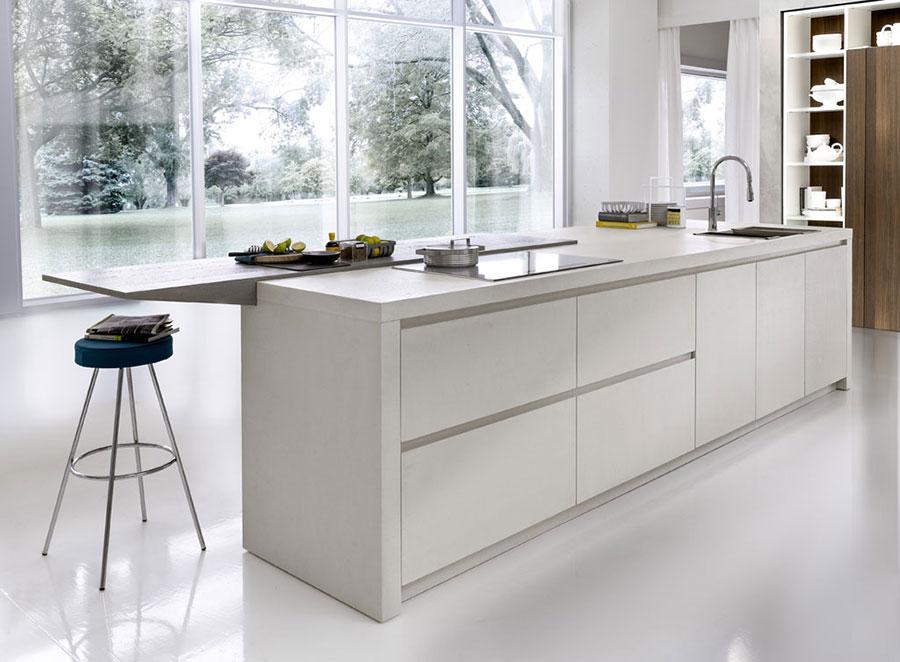 Modern White Kitchen Model # 05