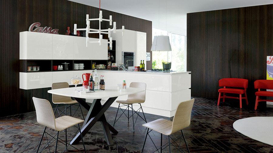 Modern White Kitchen Model # 11
