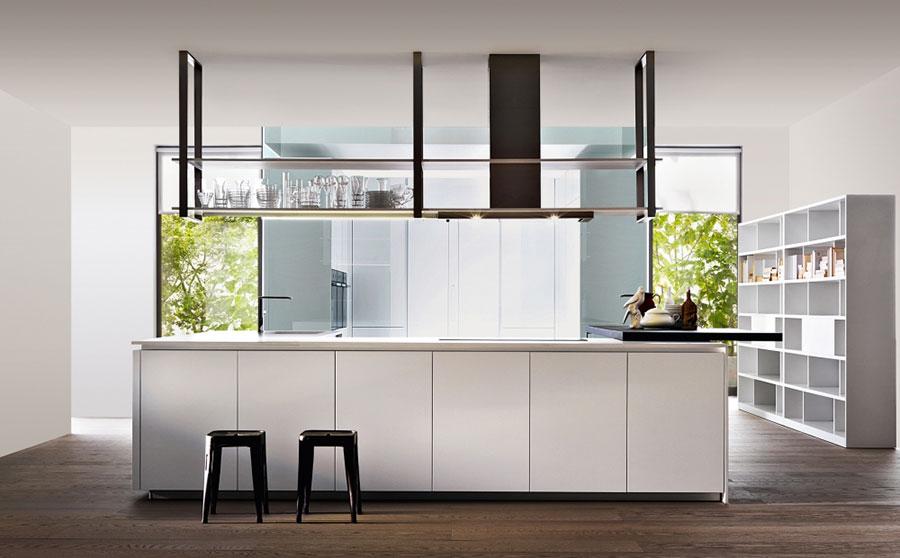Modern White Kitchen Template # 15