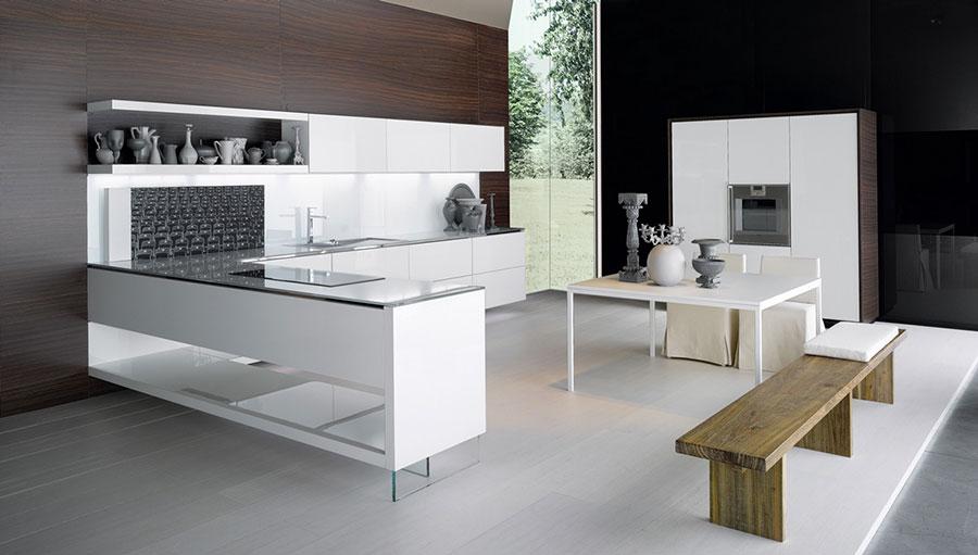 Modern White Kitchen Model # 20
