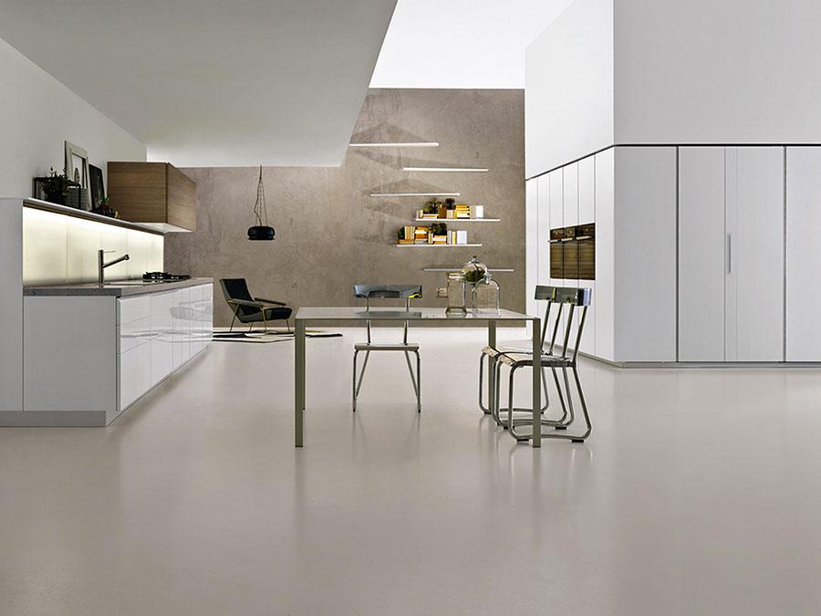Modern White Kitchen Model # 17