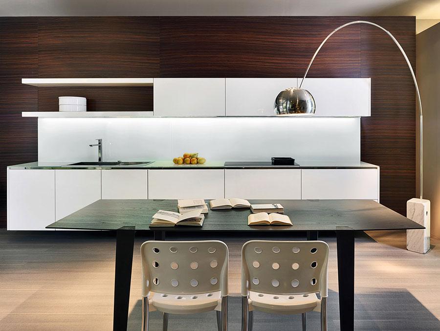 Modern White Kitchen Model # 21