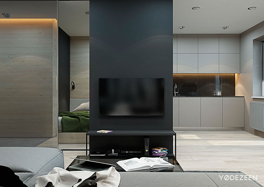 Design ideas for furnishing a small apartment n.03