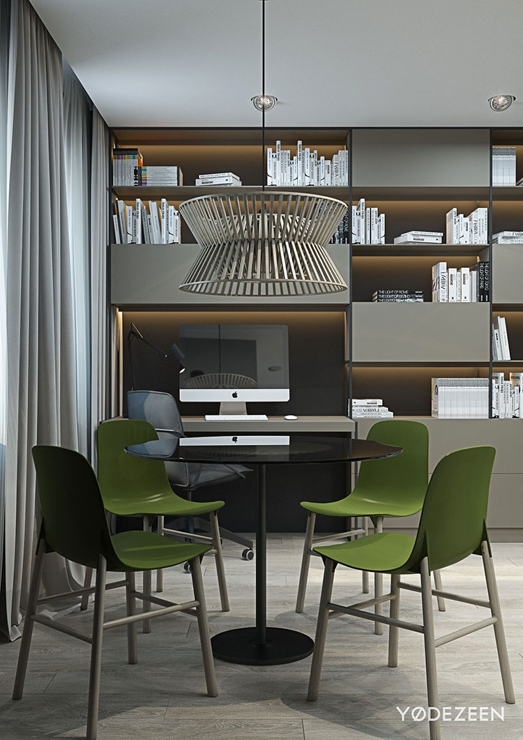 Design ideas for furnishing a small apartment n.06