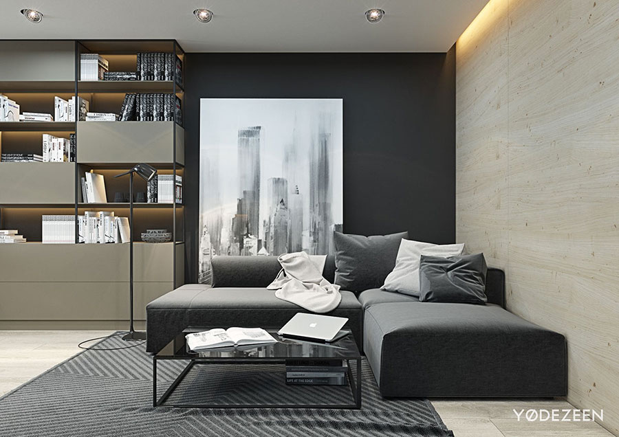 Design ideas for furnishing a small apartment n.02