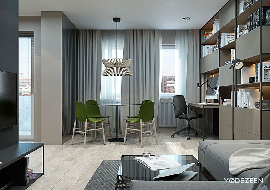 Design ideas for furnishing a small apartment n.05