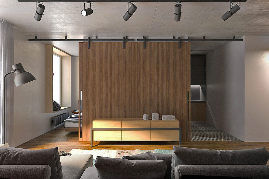Design ideas for furnishing a small apartment # 15