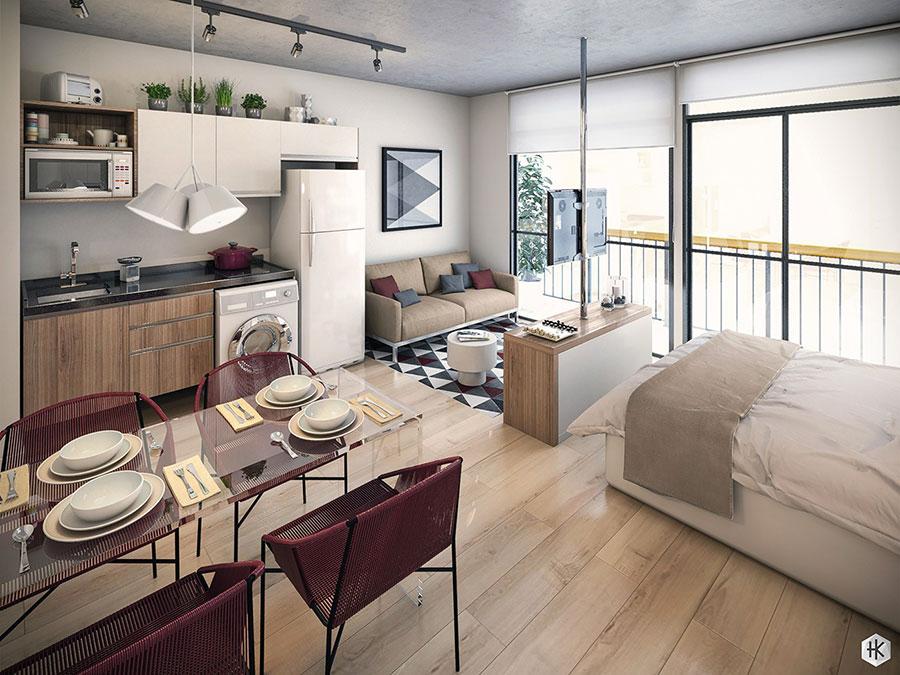 Design ideas to furnish a small apartment 23
