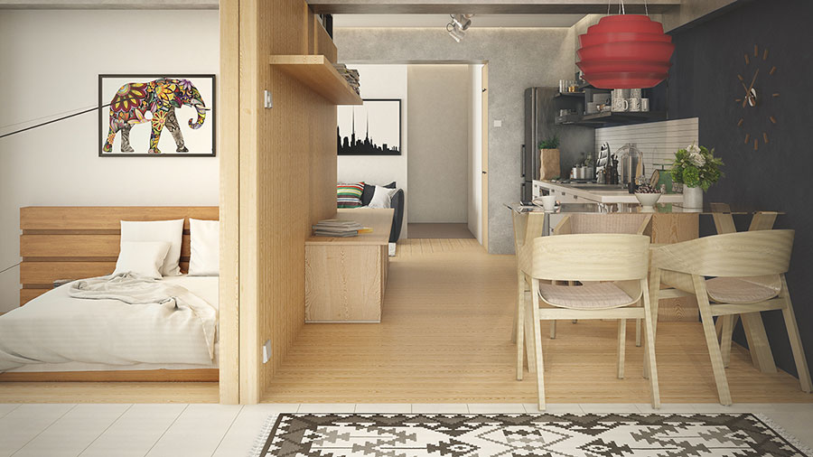 Design ideas to furnish a small apartment n.27