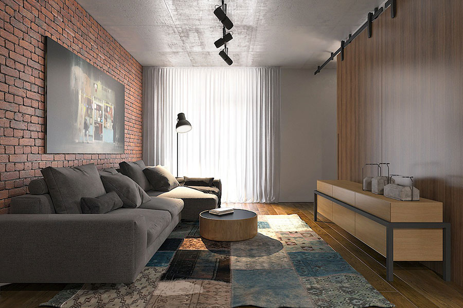 Design ideas for furnishing a small apartment n.16