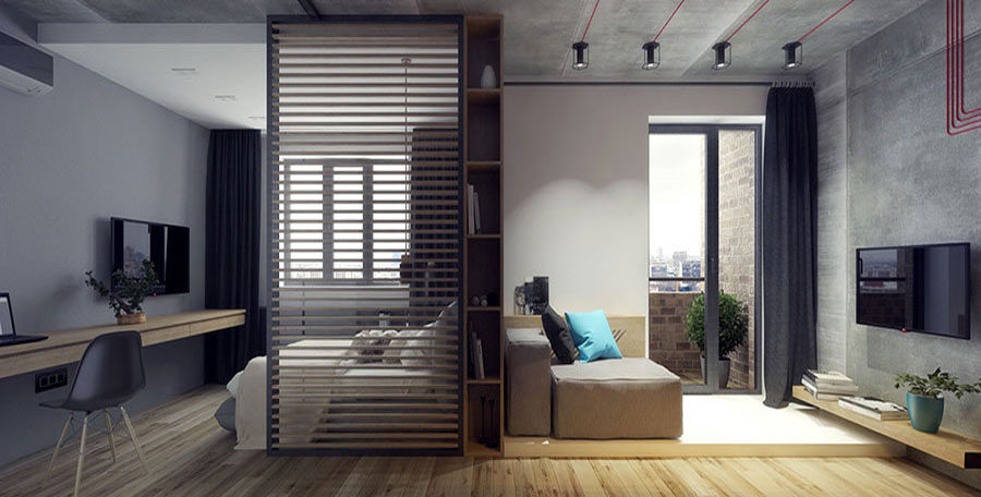 Furnishing for apartments of 40 square meters