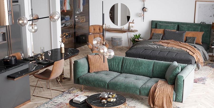 Furniture for a 30 sqm apartment