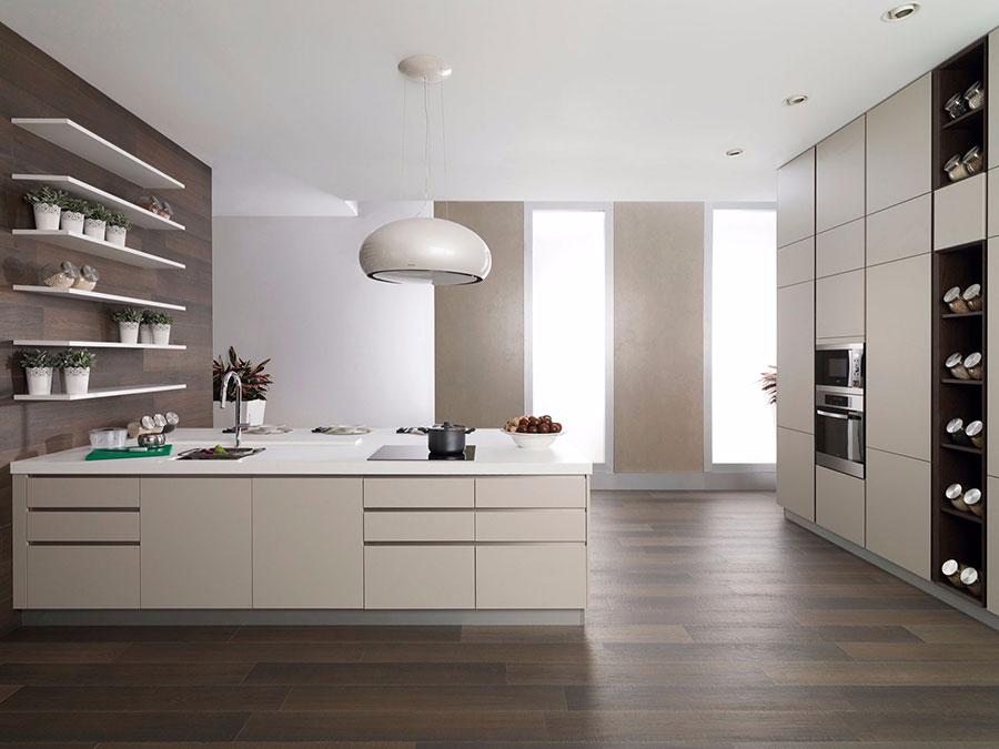 Beige and White Kitchen Model # 02