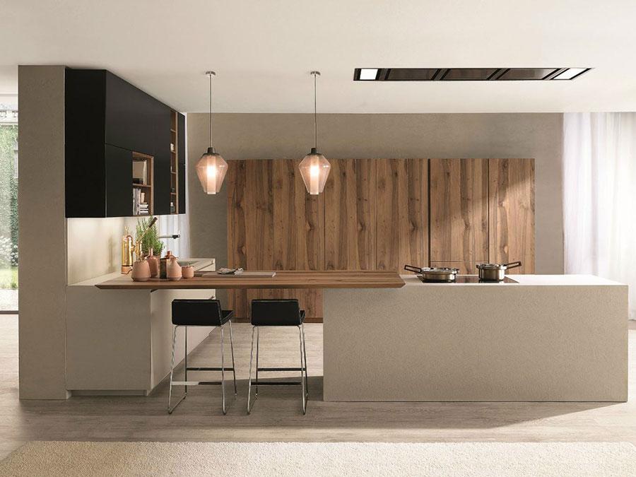 Modern Beige Kitchen Model # 03