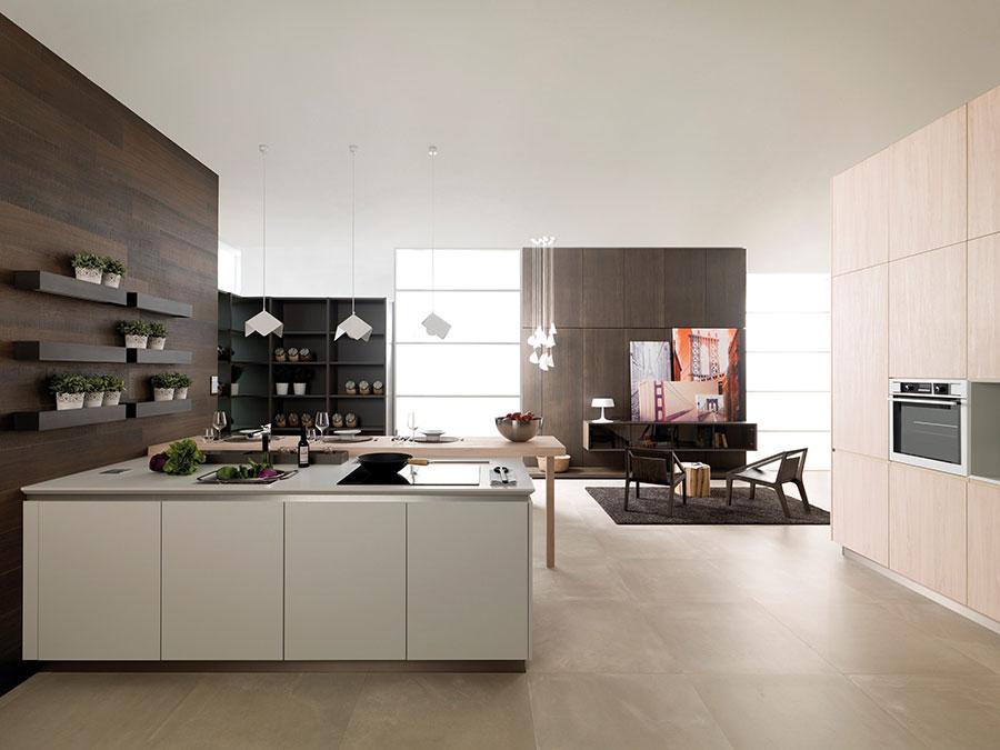 Modern Beige Kitchen Model # 02
