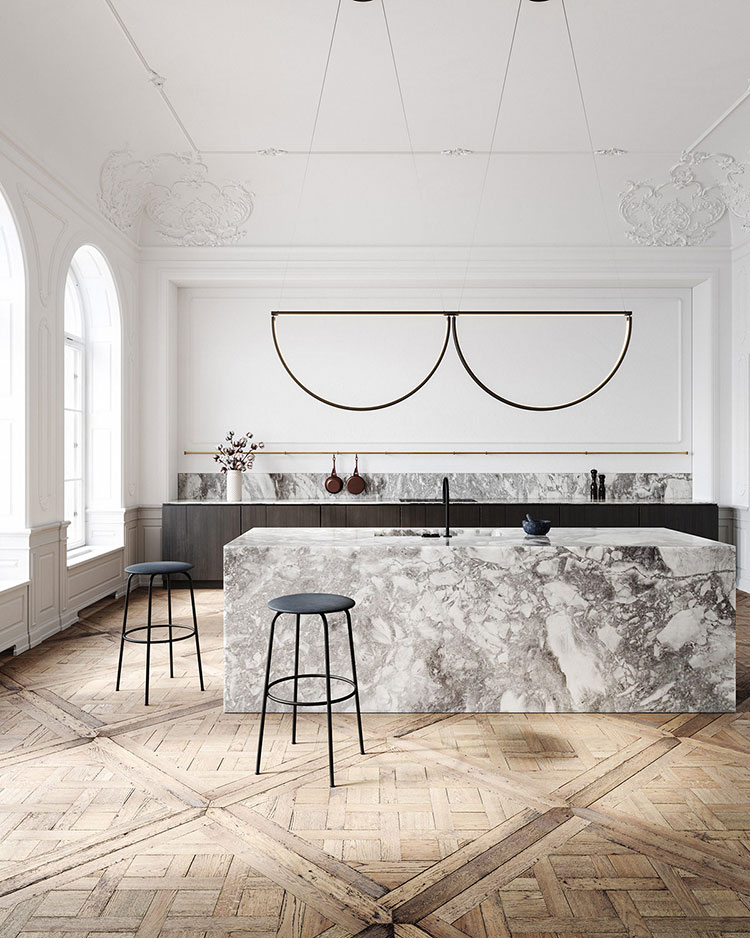 Neoclassical style furniture n.10